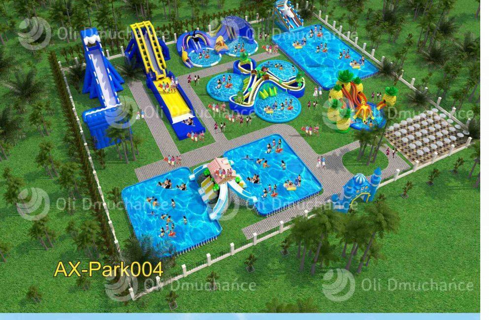 Dmuchany park wodny dla dzieci — atrakcja turystyczna w Twojej miejscowości na medal