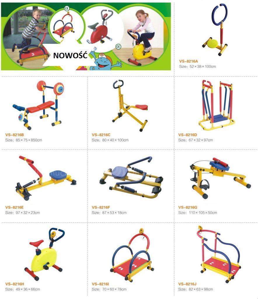 Urządzenia fitness dla dzieci