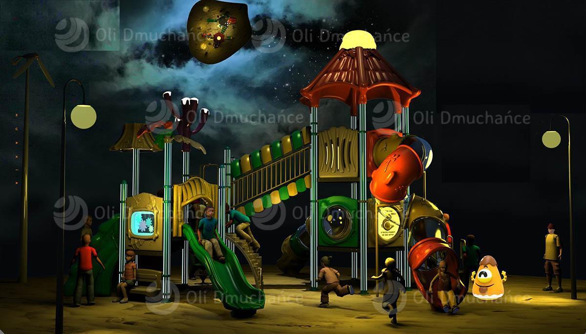 Produkcja placów i sal zabaw