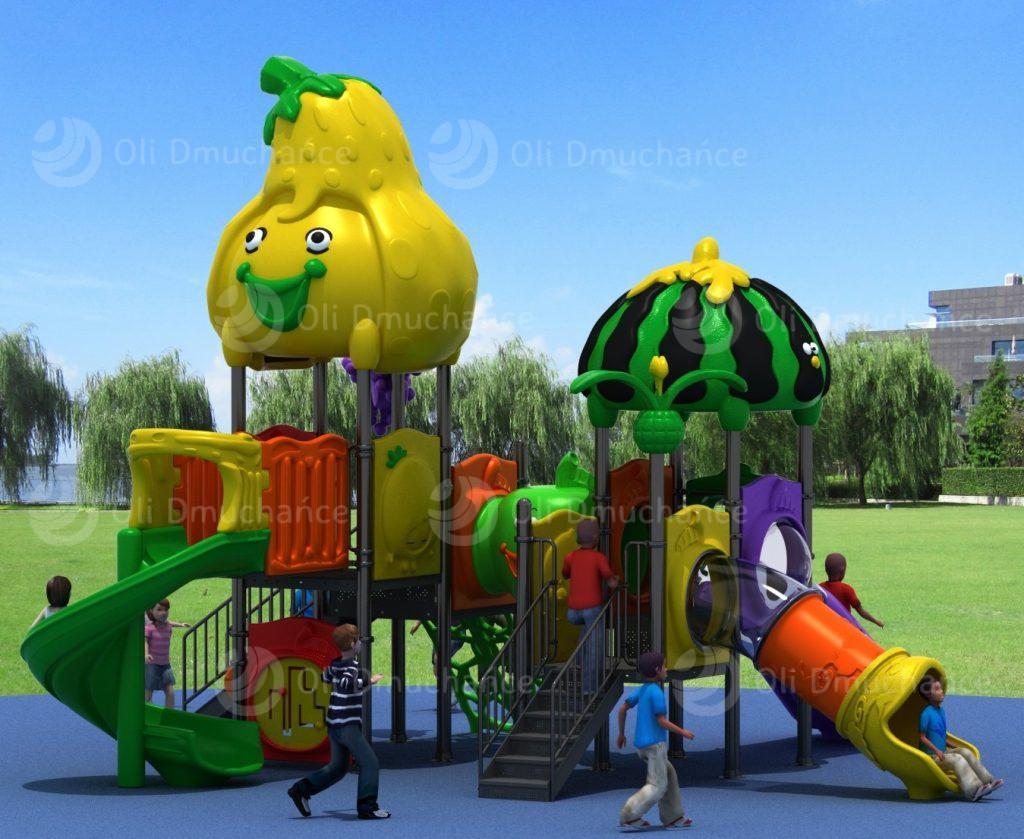 Place zabaw plastikowe
