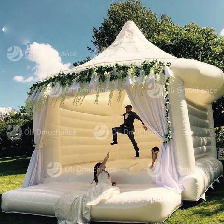 Dmuchany namiot weselny