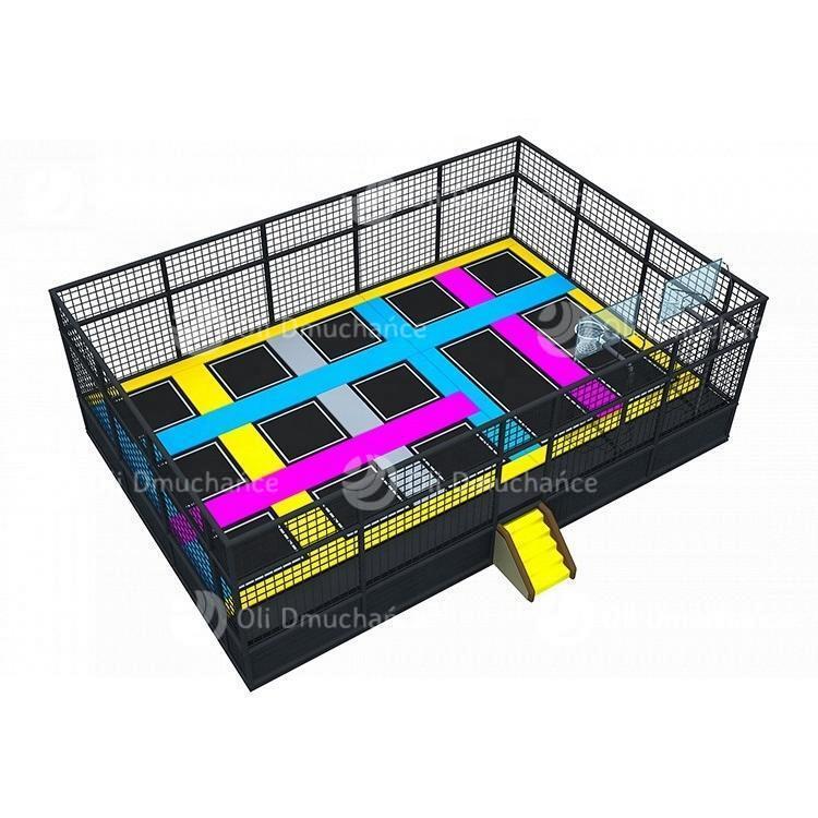 Park trampolin Multikolor